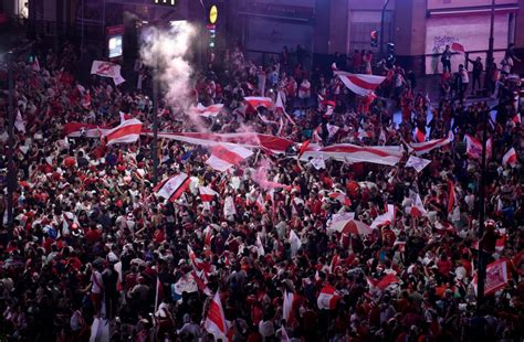 Riots break out in Buenos Aires after River Plate beat ...