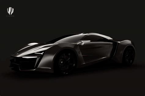 The First Supercar Concept From Middle East By W Motors