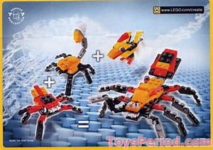 Lego 7270 Bird Set Parts Inventory And Instructions