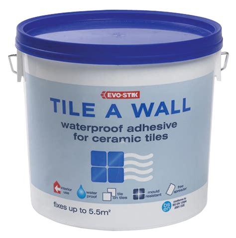 bostik tile a wall waterproof adhesive standard box of