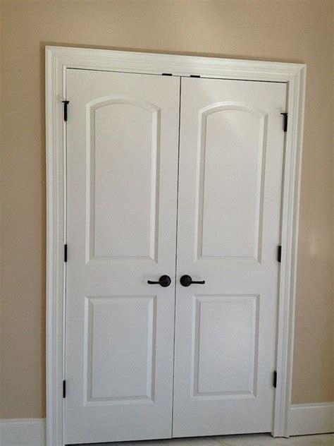 double closet doors  guest bedroom remodel bedroom