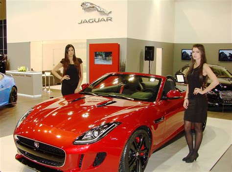 Middle East Debut Of The Jaguar F-type At Qatar Motor Show