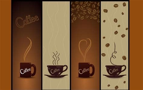 Vector Coffee Banners   Free Vector