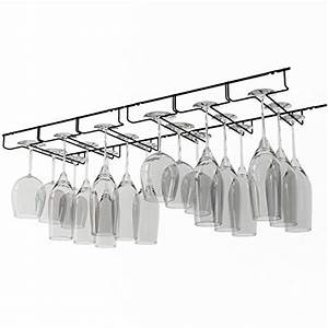 wallniture stemware wine glass hanger rack under cabinet With kitchen cabinet trends 2018 combined with long stemmed candle holders
