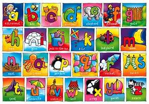 cartoon alphabet letters clipartsco With letter pictures alphabet