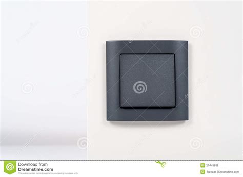 black light switch on white wall royalty free stock photos