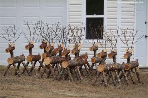 log reindeer woodchuckcanuckcom