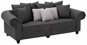Couch Home Affaire : home affaire big sofa king henry in legerer polsterung ~ Lateststills.com Haus und Dekorationen