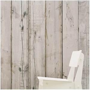 Papier Peint Effet Lambris : un papier peint imitation bois pour une d coration ~ Zukunftsfamilie.com Idées de Décoration