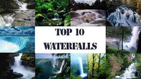 Most Beautiful Waterfalls The World Locations