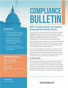 DOL Finalizes Rule to Expand Association Health Plans ...
