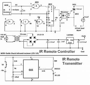 Infrared Remote Control Circuit Diagram  61343