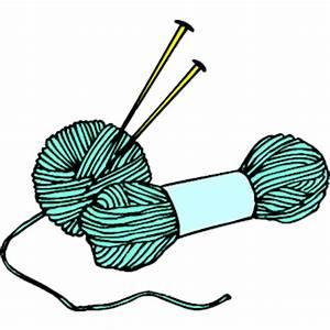 Knitting Needles & Yarn 2 clipart, cliparts of Knitting ...