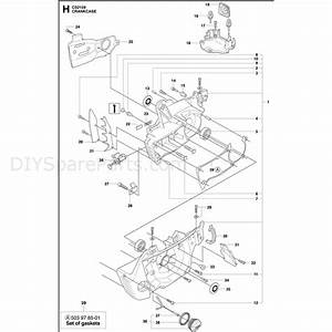 Jonsered 2159  2010  Parts Diagram  Page 8
