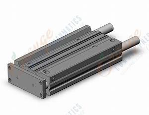 Compact Guide Cylinder Series Mgp Smc Pneumatics Smc