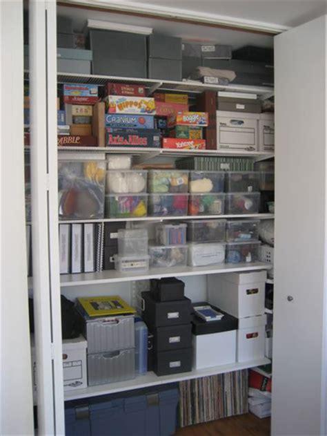 storage closets unclutterer
