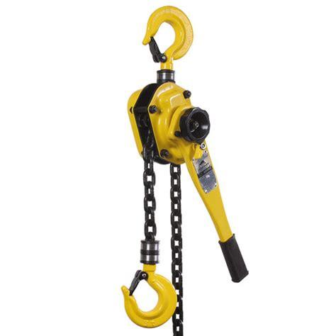 ratchet lever block hire rent block  tackle gear