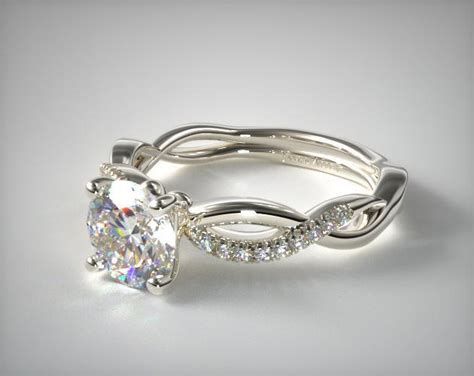 Solo Infinity Engagement Ring