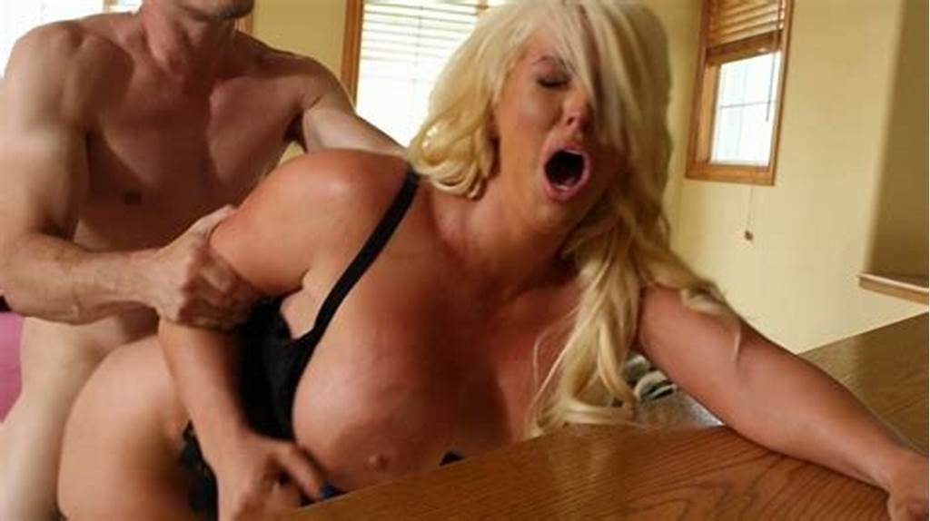 #Hot #And #Horny #Blonde #Milf #Alura #Jenson #Drilled #Hard