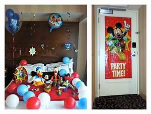 A Disney In-Room Celebration That Won't Break The Bank