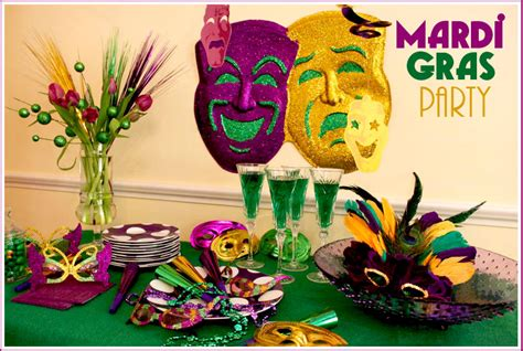 Host A Mardi Gras Party Recipes & Free Printable Masks