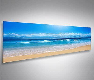 Ikea Bild Strand by Ikea Leinwand Panoramabild Strand Karibik Meer Baum 140cm