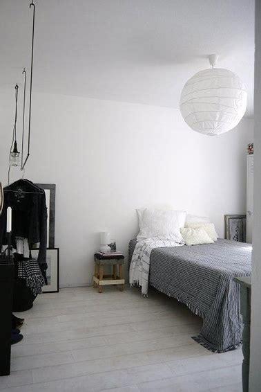 Chambre Gris Et Blanc Chambre Style Scandinave Blanche Grise Et