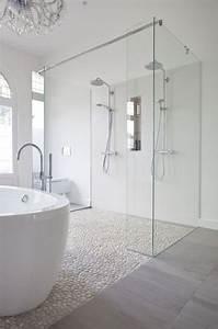 les 25 meilleures idees de la categorie salle de bains en With carrelage rectangulaire salle de bain