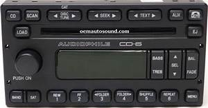 Ford Escape Mariner Factory Cd Radio 6l8t