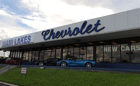 Miami Lakes Chevrolet Is Here For You  Miami Chevy