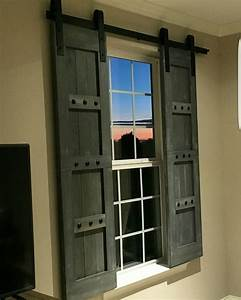 interior window barn shutters sliding shutters barn With barn door hardware for windows
