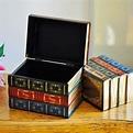 Lovable Secret - Vintage books compartment storage box ...