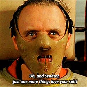 gifs* anthony hopkins silence of the lambs Silence ...