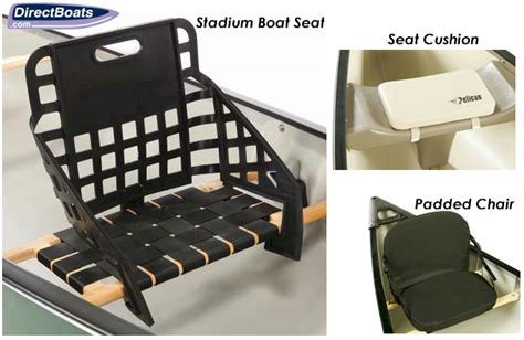 Canoes With Seat Backs by Pelican Canoe Seats