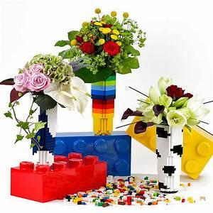Découvrez des vases 100% originaux en briques LEGO Tendances Déco Déco