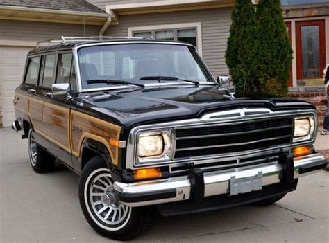 1989 jeep grand wagoneer sell used 1989 jeep grand wagoneer beautiful one owner
