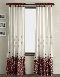 Pretty Bow Top Curtain Localtraders Unique And Special Curtain Designs For House Interior