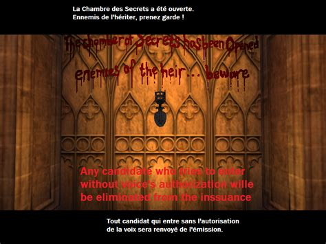 chambre des secrets images marrantes de la version pc sur le forum harry
