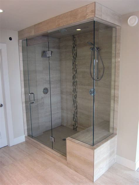 shower glass door tile cheryl pinterest frameless