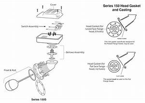 mcdonnell miller 171802 model 150s md lwco pump With view part diagram item 6
