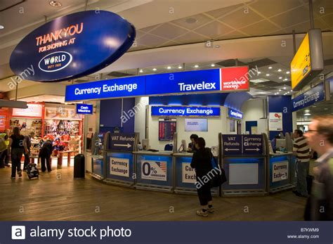 bureau de change op駻a travelex exchange in heathrow terminal 5 departures after security contact directory uk