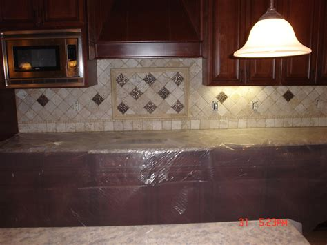 Travertine Kitchen Backsplash Tile Splashback Ideas Pictures November 2011