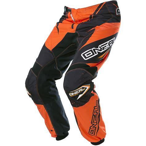 orange motocross gear oneal 2017 new mx gear element dirt bike black