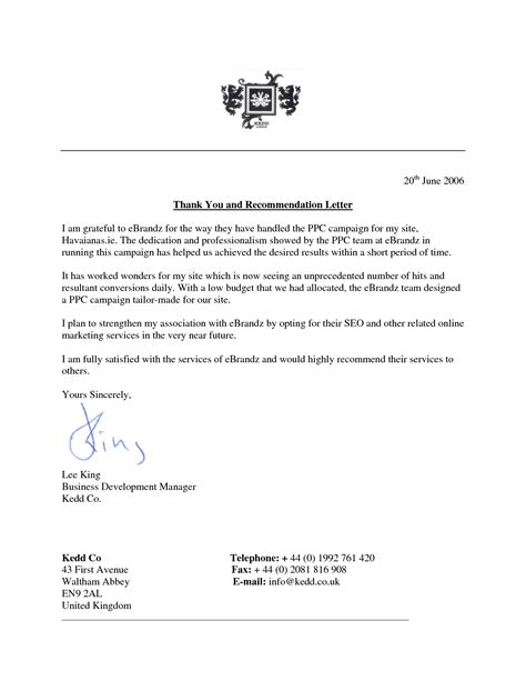 how to write a letter of recommendation for a how to write thank you letter for recommendation free