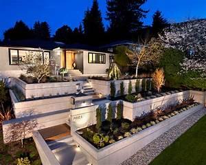 Terrasse Am Hang : alluring zen garden style excellent modern garden design ~ A.2002-acura-tl-radio.info Haus und Dekorationen