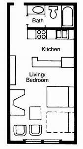 Very, Small, Studio, Apartment, Or, Small, Pool, House, Floor, Plan