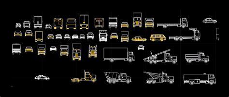 camiones en autocad descargar cad gratis  mb