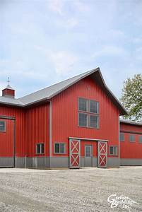Greiner buildings ainsworth iowa metal pole barns for Aluminum pole barn