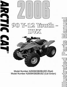 Arctic Cat Ac 90 Dvx90 - 2006 Service Repair Manual