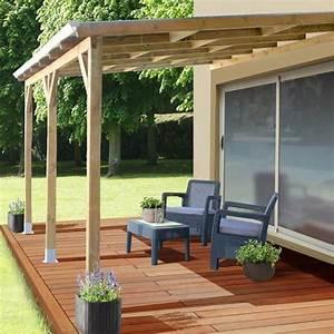 Toit Pergola Bois : pergola en bois avec ou sans toit polycarbonate ~ Dode.kayakingforconservation.com Idées de Décoration